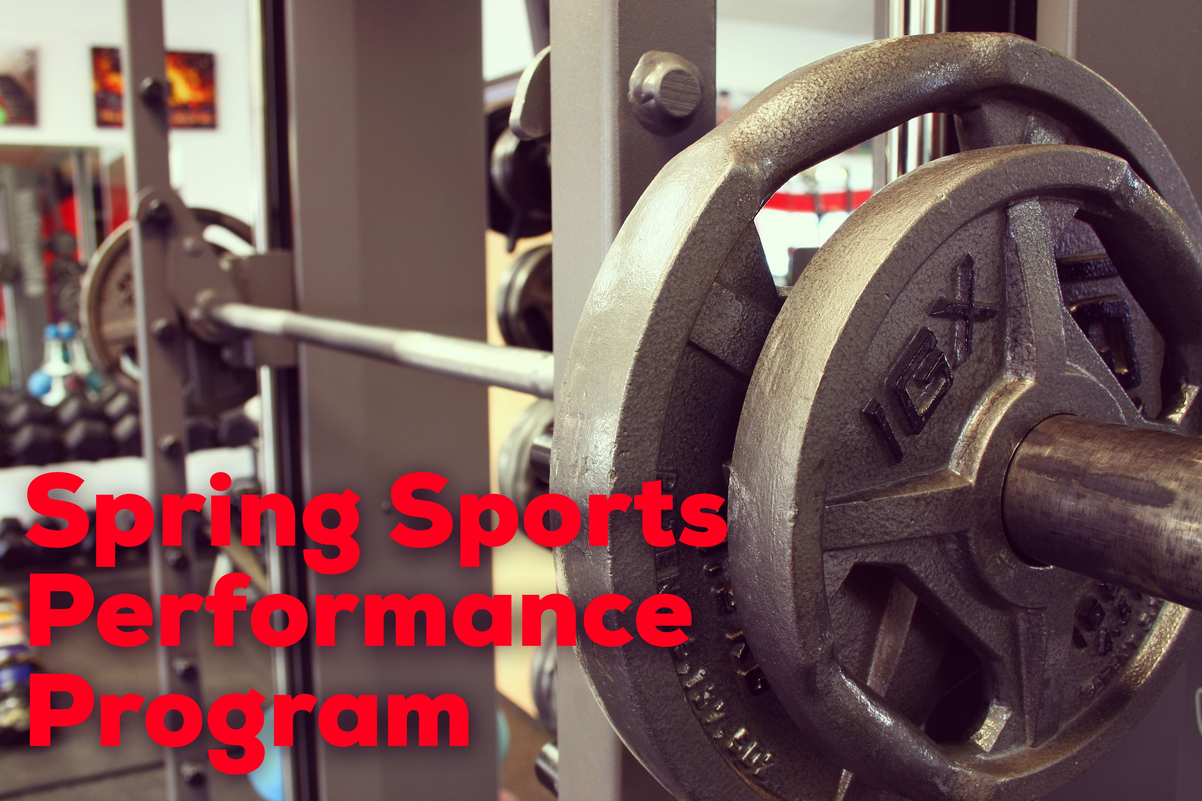Spring 2018 Sports Performance Registration is OPEN!