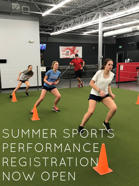 Summer Sports Performance Registration is NOW OPEN!